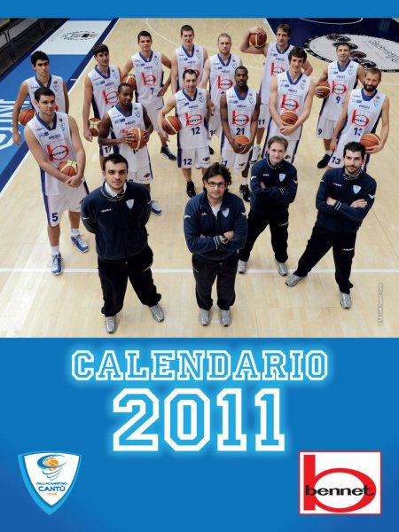 Calendario basket Bennet 2011